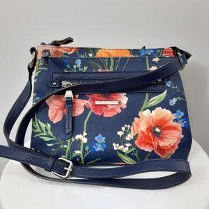 Dana Buchman Colorful Floral Purse/Shoulder Bag